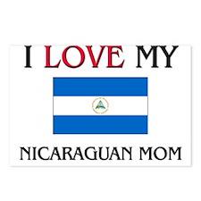 I Love My Nicaraguan Mom Postcards (Package of 8)