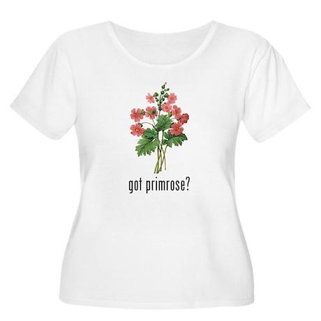 Primrose Women's Plus Size Scoop Neck T-Shirt