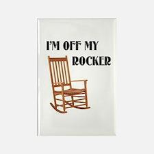OFF MY ROCKER Rectangle Magnet