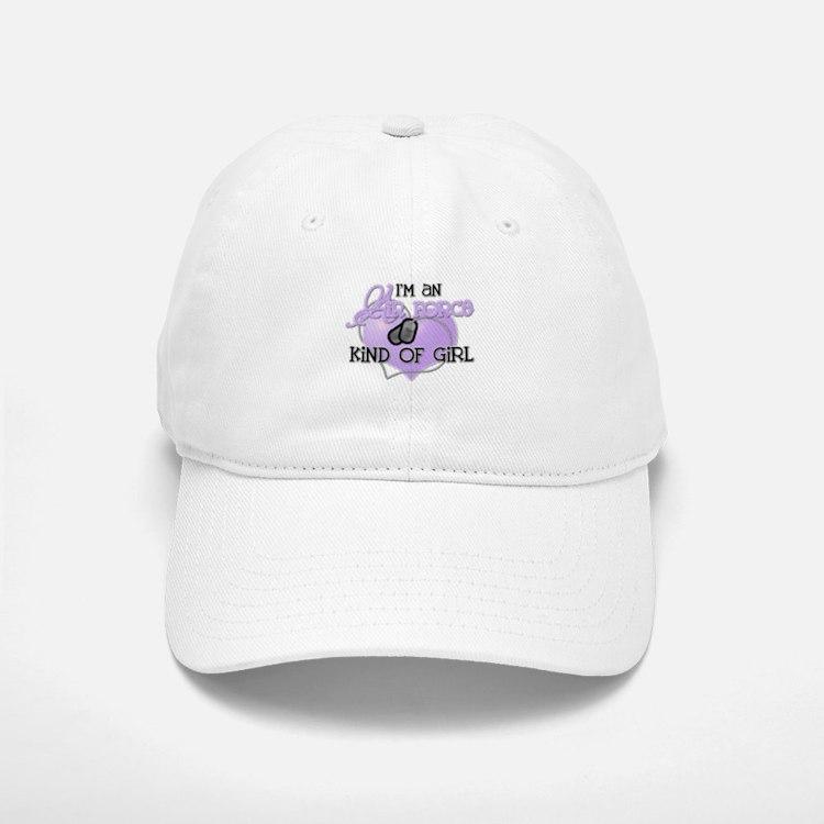 Air Force Kind of Girl Baseball Baseball Cap