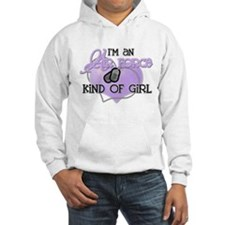 Air Force Kind of Girl Jumper Hoody