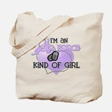 Air Force Kind of Girl Tote Bag