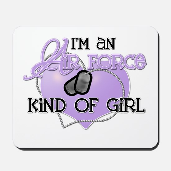 Air Force Kind of Girl Mousepad