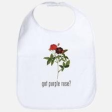 Purple Rose Bib