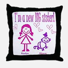 Kaelyn and Alyson Shirt Throw Pillow