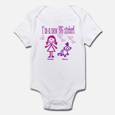 Kaelyn and Alyson Shirt Infant Bodysuit