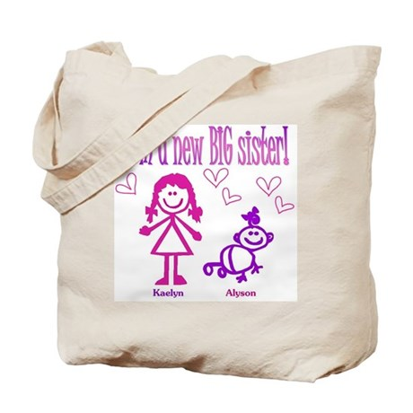 Kaelyn and Alyson Shirt Tote Bag