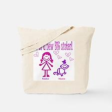 Kaelyn and Alyson Shirt Tote Bag