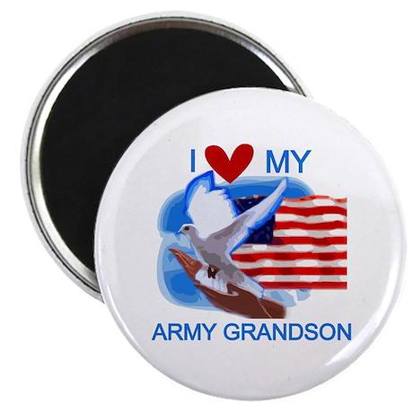 Love My Army Grandson Magnet