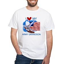 Love My Army Grandson Shirt