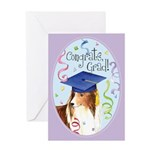 Sheltie Graduate Greeting Card