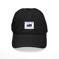 I Love My Montserratian Mom Baseball Hat