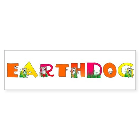 Earthdog Bumper Sticker