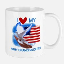 Love My Army Granddaughter Mug