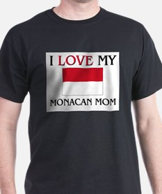I Love My Monacan Mom T-Shirt