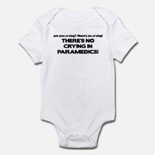 There's No Crying Paramedics Infant Bodysuit