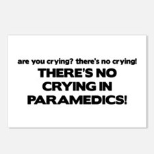 There's No Crying Paramedics Postcards (Package of