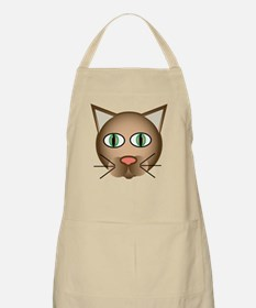 Cool Cartoon Cat BBQ Apron
