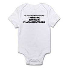 There's No Crying Pharmaceuticals Onesie