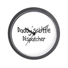 Daddy's Little Dispatcher Wall Clock