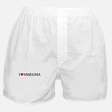 I Heart Smegma Boxer Shorts