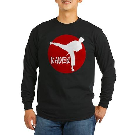 Kaden Karate Long Sleeve Dark T-Shirt