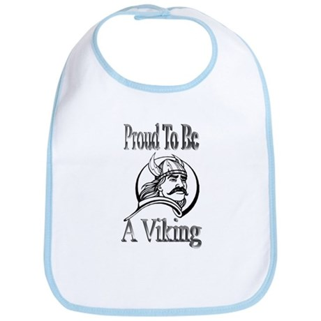 Proud To Be A Viking Bib