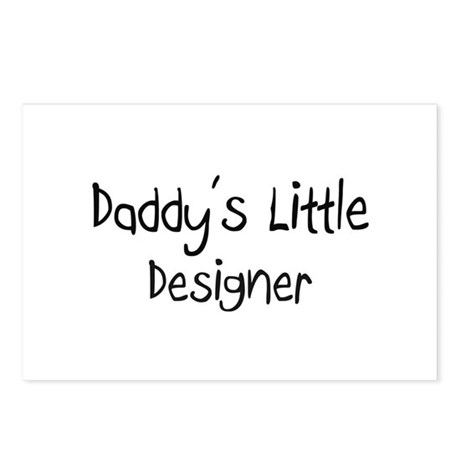 Daddy's Little Designer Postcards (Package of 8)