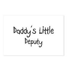 Daddy's Little Deputy Postcards (Package of 8)