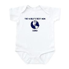 SONIA - Worlds Best Mom Infant Bodysuit