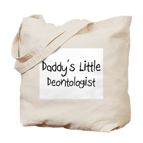 Daddy's Little Deontologist Tote Bag