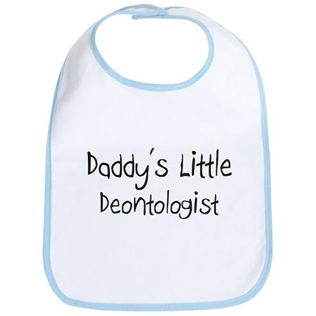 Daddy's Little Deontologist Bib