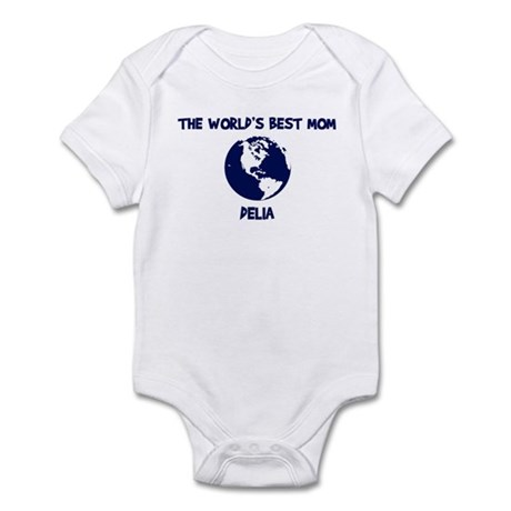 DELIA - Worlds Best Mom Infant Bodysuit