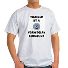 Trained by an Elkhound Ash Grey T-Shirt