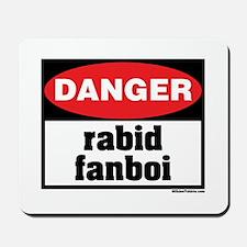 Danger Rabid Fanboi Mousepad
