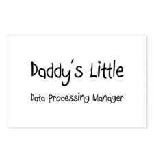 Daddy's Little Data Processing Manager Postcards (