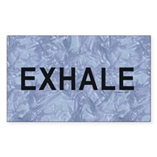 TOP Exhale Decal