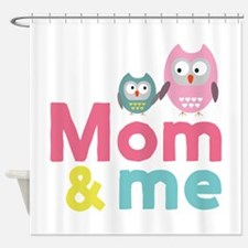 My mom and me Mothersday Cd8du Shower Curtain