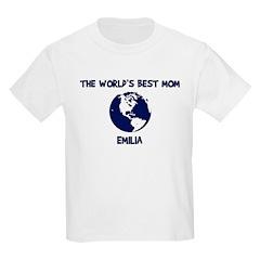 EMILIA - Worlds Best Mom T-Shirt