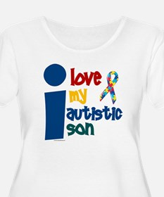 I Love My Autistic Son 1 T-Shirt