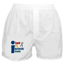 I Love My Autistic Sons 1 Boxer Shorts