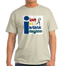 I Love My Autistic Daughter 1 T-Shirt