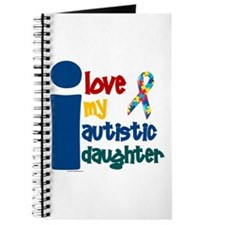 I Love My Autistic Daughter 1 Journal