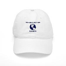 ELIZABETH - Worlds Best Mom Baseball Cap
