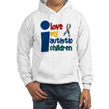 I Love My Autistic Children 1 Hoodie