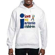 I Love My Autistic Children 1 Jumper Hoody