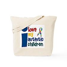 I Love My Autistic Children 1 Tote Bag