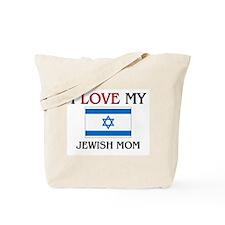 I Love My Jewish Mom Tote Bag