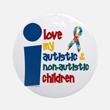 I Love My Autistic & NonAutistic Children 1 Orname