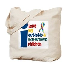 I Love My Autistic & NonAutistic Children 1 Tote B